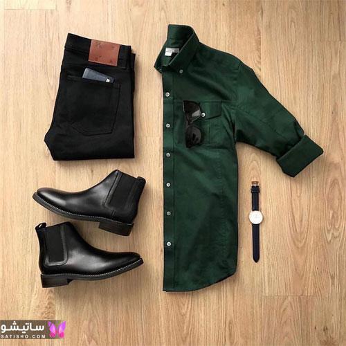 set mardane satisho 2 - بهترین ست لباس مردانه شیک 1400