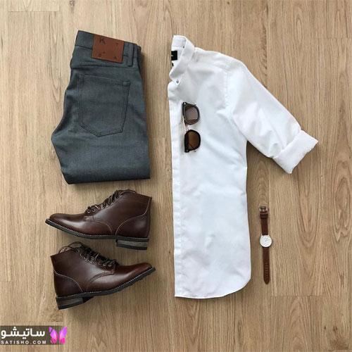 set mardane satisho 23 - بهترین ست لباس مردانه شیک 1400