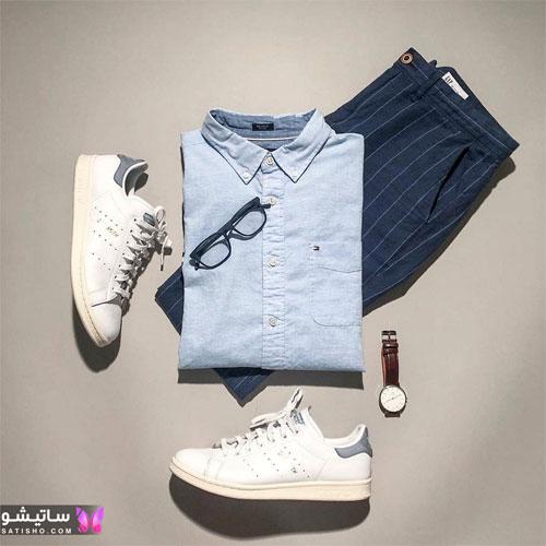 set mardane satisho 24 - بهترین ست لباس مردانه شیک 1400