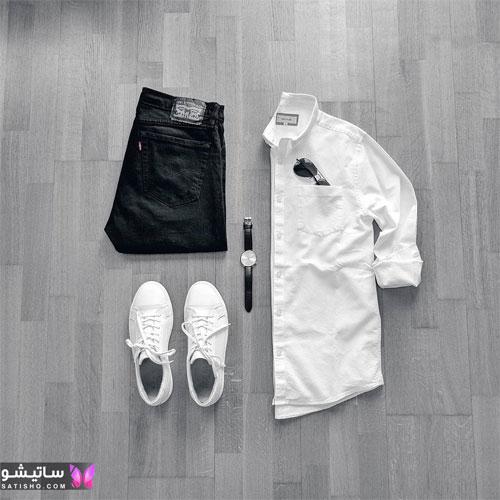 set mardane satisho 28 - بهترین ست لباس مردانه شیک 1400