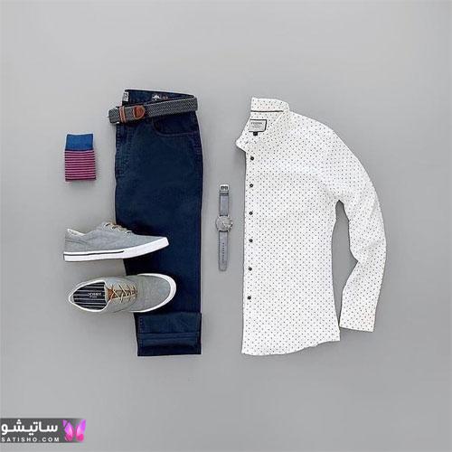 set mardane satisho 3 - بهترین ست لباس مردانه شیک 1400