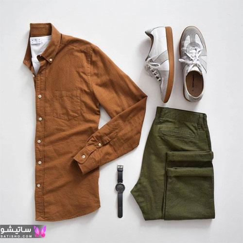 set mardane satisho 30 - بهترین ست لباس مردانه شیک 1400