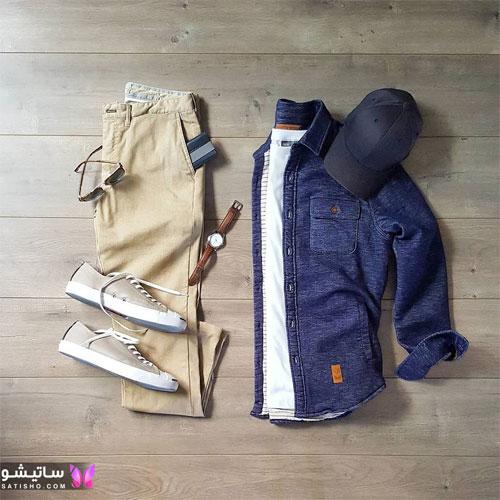 set mardane satisho 36 - بهترین ست لباس مردانه شیک 1400
