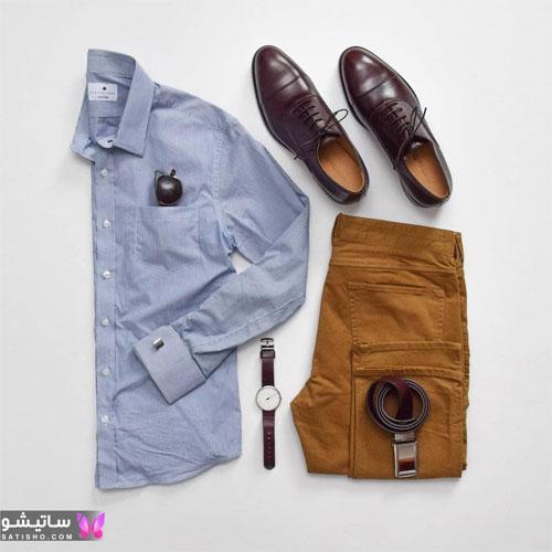 set mardane satisho 48 - بهترین ست لباس مردانه شیک 1400