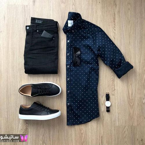 set mardane satisho 49 - بهترین ست لباس مردانه شیک 1400