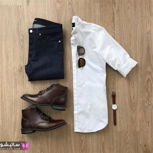 set mardane satisho 6 - بهترین ست لباس مردانه شیک 1400