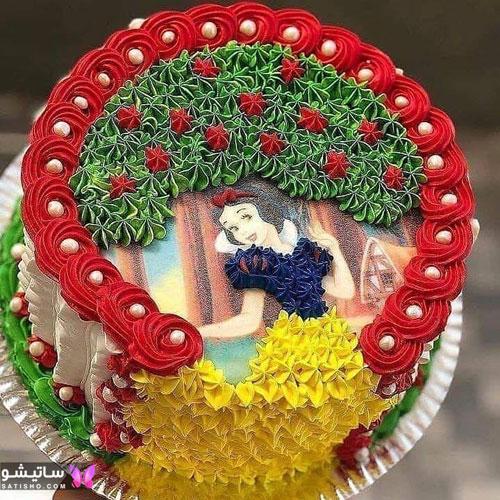 مدل کیک تولد پسرانه نوجوان