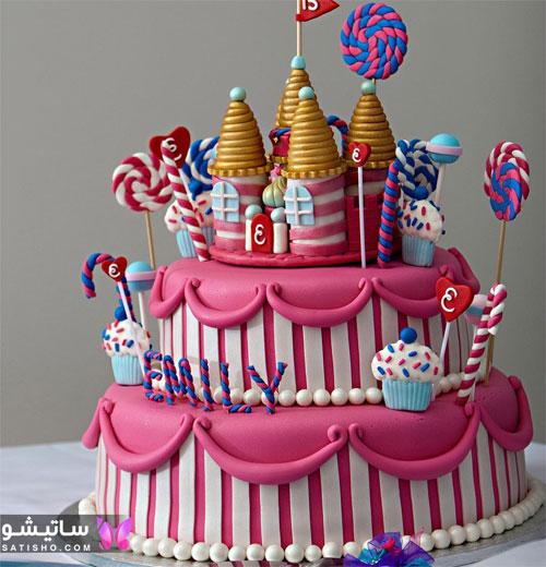 تزیینات شیک و ساده کیک تولد پسرانه