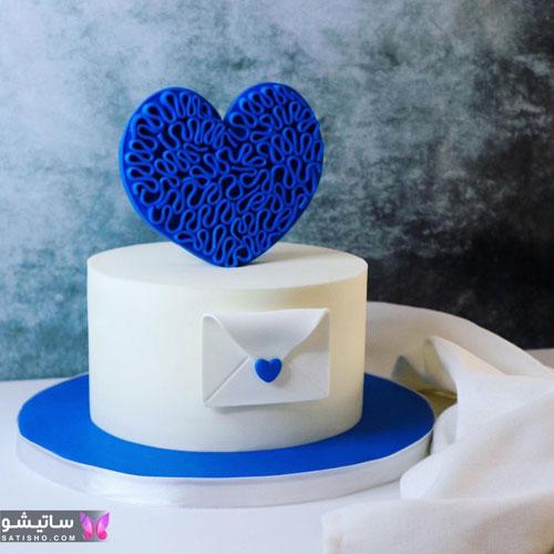 کیک تولد ساده و جدید پسرانه