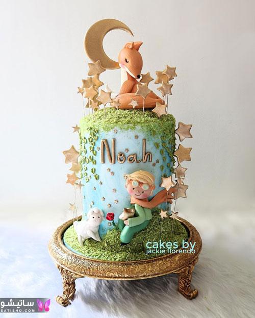 کیک تولد پسرانه لاکچری و باکلاس