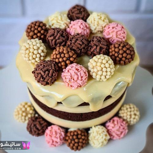 مدلهای ساده کیک تولد پسرانه