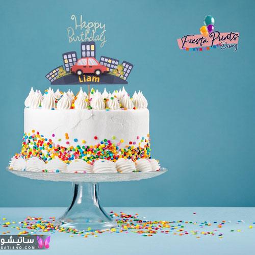 آموزش تزیین کیک تولد پسرانه