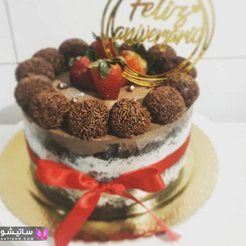 کیک تولد پسرانه بسیار زیبا و شیک