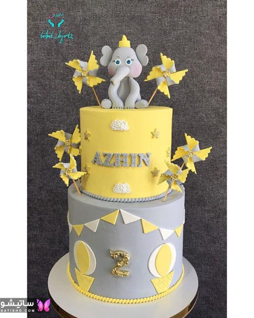 مدل کیک تولد پسرانه 1400