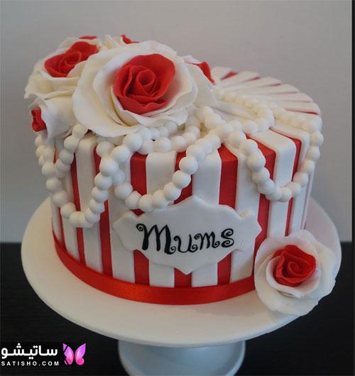 کیک تولد ساده و شیک پسرانه