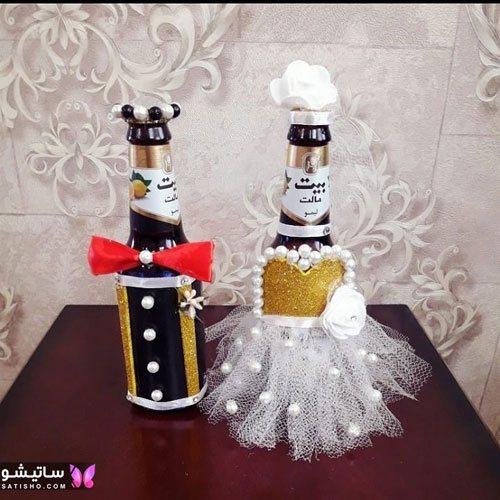tazeen yakhchal aroos satisho 1 - تزیین یخچال عروس | شیک تری چیدمان یخچال فریزر عروس 1400