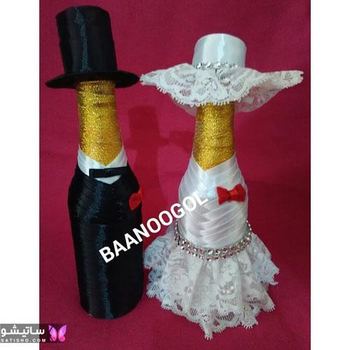 tazeen yakhchal aroos satisho 6 - تزیین یخچال عروس | شیک تری چیدمان یخچال فریزر عروس 1400