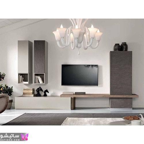 نمونه های ساده و جذاب تزیین دیوار پشت تلویزیون