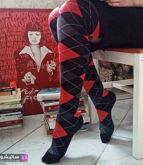 مدل جوراب دخترانه