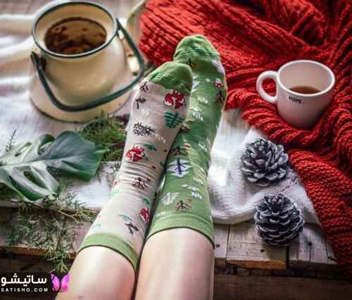 عکس جوراب های فانتزی دخترانه