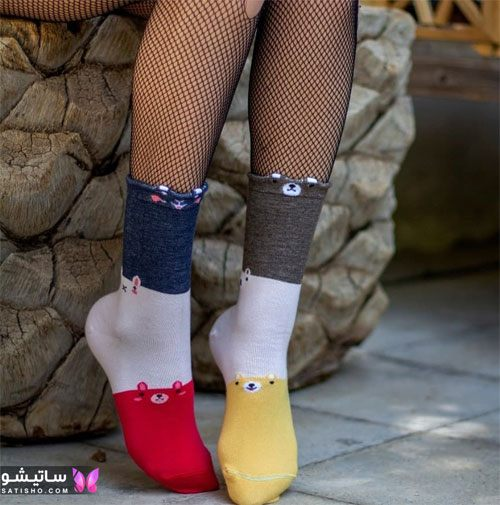 جوراب های فانـتزی بچه گانه