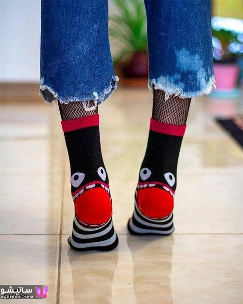 مدل جدید جوراب زنانه