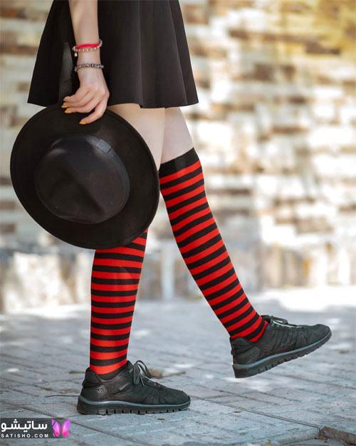 مدل جدید جوراب شلواری دخترانه