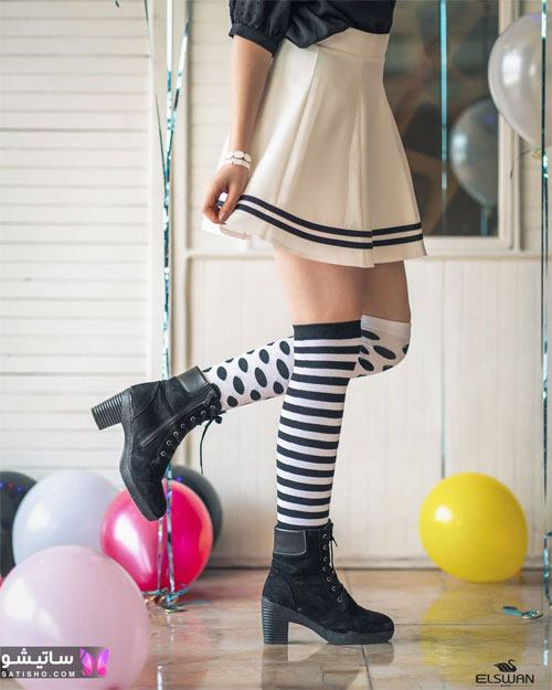 جدیدترین مدل جوراب دخترانه