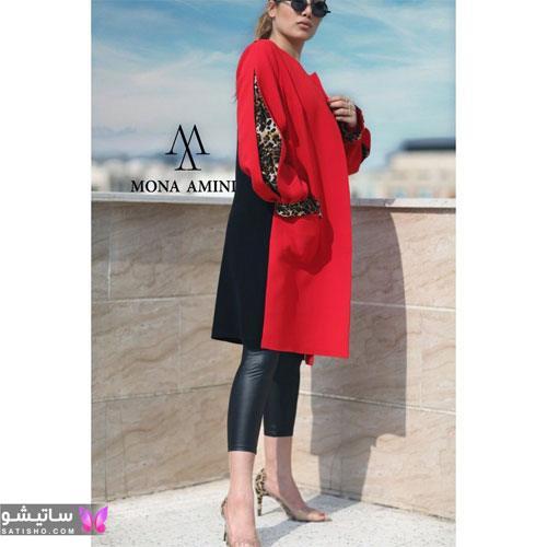 manto ghermez satisho 26 - جدیدترین مدل مانتو قرمز اسپرت | مانتو قرمز کوتاه دخترانه 2022
