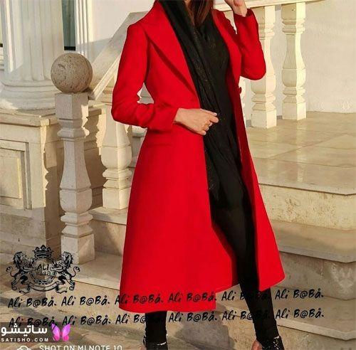 manto ghermez satisho 29 - جدیدترین مدل مانتو قرمز اسپرت | مانتو قرمز کوتاه دخترانه 2022