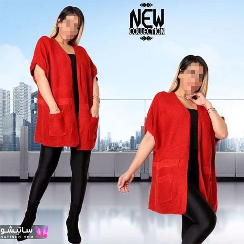 manto ghermez satisho 41 - جدیدترین مدل مانتو قرمز اسپرت | مانتو قرمز کوتاه دخترانه 2022