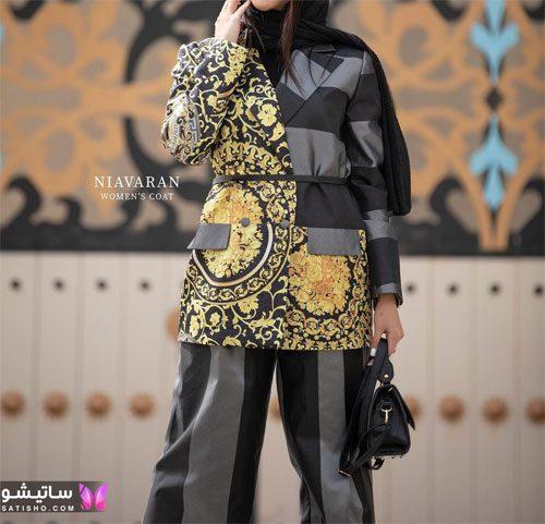 جذاب ترین مدل مانتو شلوار خاص زنانه