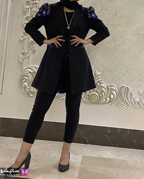 جدیدترین مدل مانتو کوتاه اسپرت دخترانه