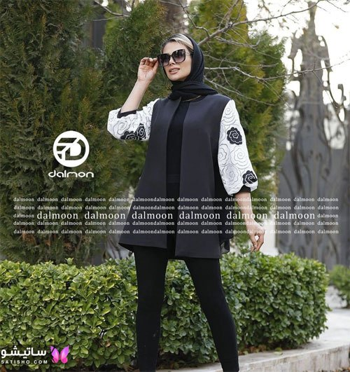 manto meshki satisho 123 - ⚫️ انواع مدل های جدید مانتو مشکی شیک زنانه و دخترانه 2021