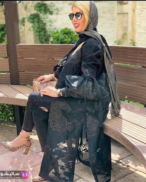 manto meshki satisho 75 - مدل مانتو مشکی دخترانه برای محرم 1400