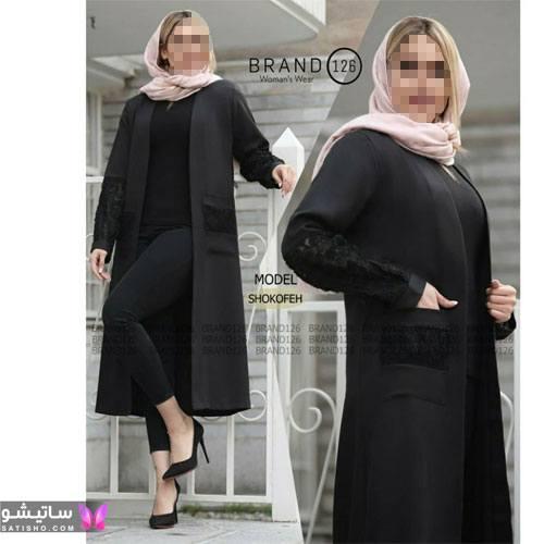 manto meshki satisho 84 - مدل مانتو مشکی دخترانه برای محرم 1400