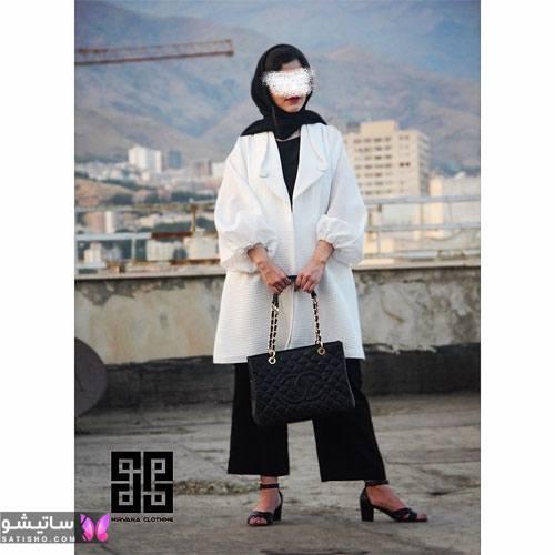 manto nakhi satisho 1 - مدل مانتو نخی شیک گلدار با طرح های حریر اسپرت دخترانه و زنانه