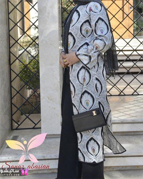 manto nakhi satisho 13 - مدل مانتو نخی شیک گلدار با طرح های حریر اسپرت دخترانه و زنانه