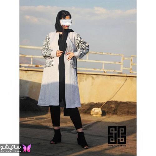 manto nakhi satisho 2 - مدل مانتو نخی شیک گلدار با طرح های حریر اسپرت دخترانه و زنانه