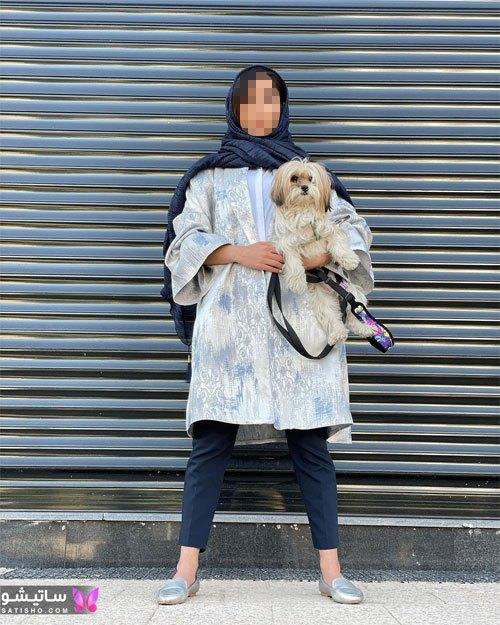 manto nakhi satisho 29 - مدل مانتو نخی شیک گلدار با طرح های حریر اسپرت دخترانه و زنانه