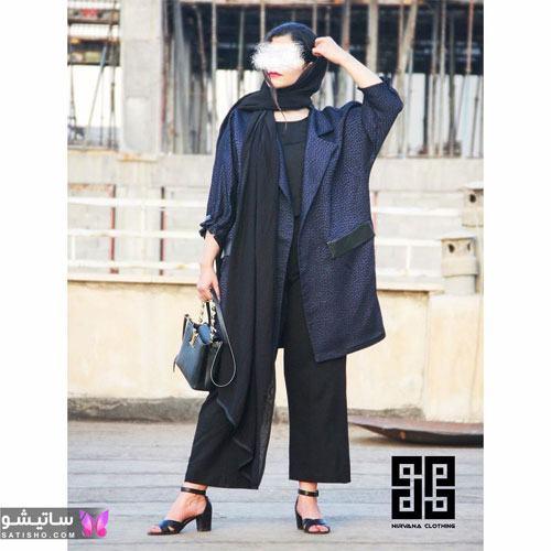 manto nakhi satisho 3 - مدل مانتو نخی شیک گلدار با طرح های حریر اسپرت دخترانه و زنانه
