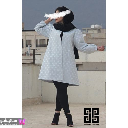 manto nakhi satisho 4 - مدل مانتو نخی شیک گلدار با طرح های حریر اسپرت دخترانه و زنانه