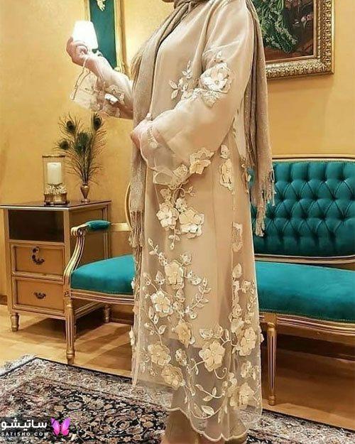 manto nakhi satisho 6 - مدل مانتو نخی شیک گلدار با طرح های حریر اسپرت دخترانه و زنانه