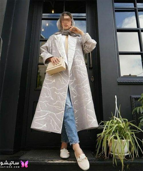manto nakhi satisho 8 - مدل مانتو نخی شیک گلدار با طرح های حریر اسپرت دخترانه و زنانه