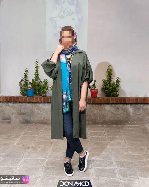 مدل مانتو مشکی شیک لاکچری