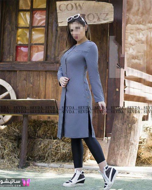 مدل مانتو اندامی دخترانه رسمی