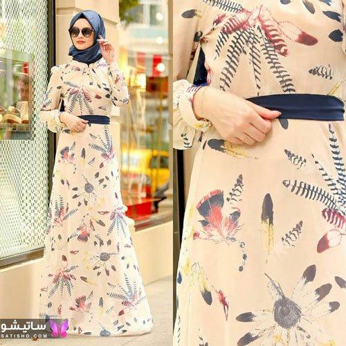 عکس مدل مانتوی با حجاب عربی