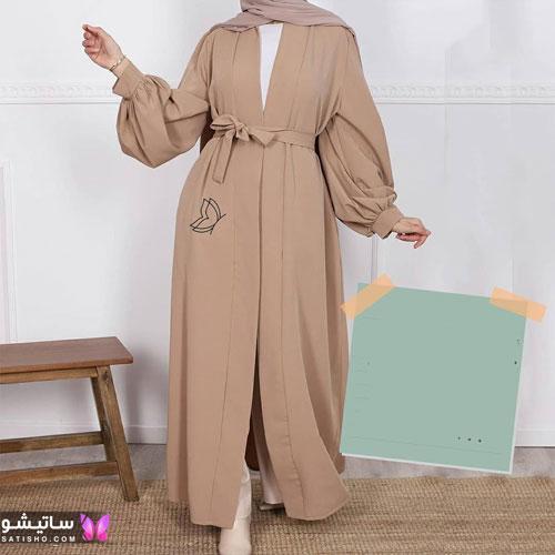 انواع مدلهای مانتو عربی شیک