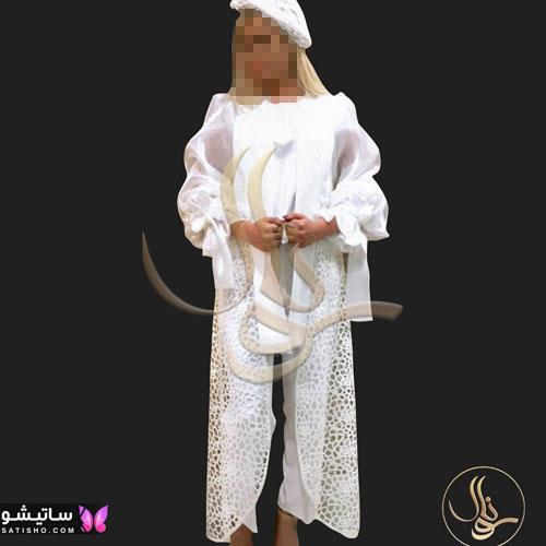 manto sefid satisho 16 - مدل مانتو سفید در طرح های اسپرت تابستانی و مجلسی زنانه 1400