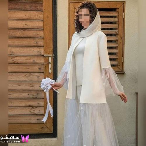 manto sefid satisho 35 - مدل مانتو سفید در طرح های اسپرت تابستانی و مجلسی زنانه 1400